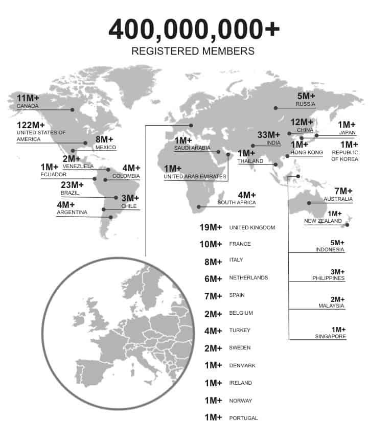 LinkedIn_Global Membership_September 30 2015