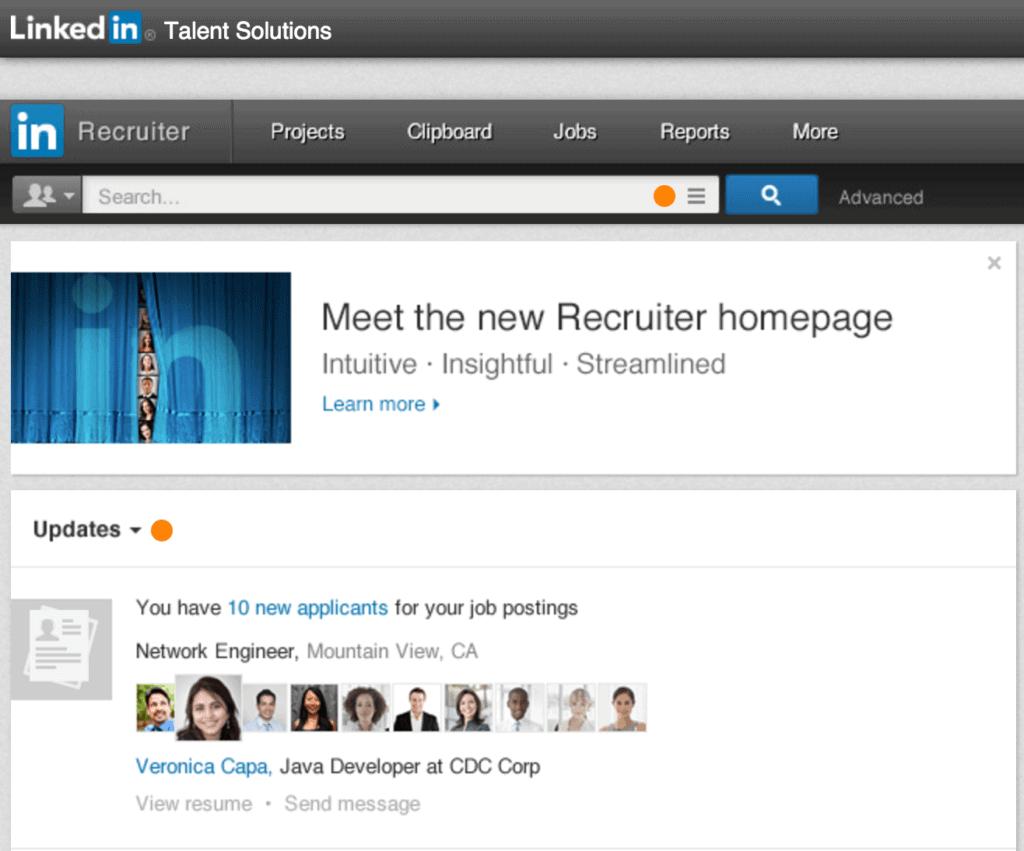 LinkedIn Talent Solutions recruit executives
